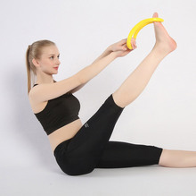 Women Fitness Equipment  Yoga Circle hammered yoga ring ligaments magic home fitness equipment