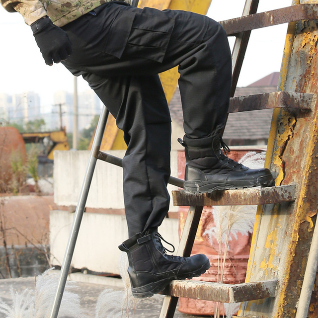 Pants Clothes Thin Tactical Trousers Cargo Pants Black Military Army Pants