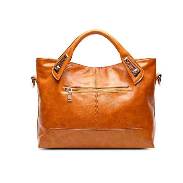 New Fashion Women's PU Leather Top Handle Bag