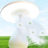 Mushroom Air Purifier Desk Lamp USB Rechargeable Touch Sensor LED Light Cleaner