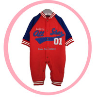 Retail New Arrival100 Pure Cotton Baby Rompers Boy Baby Pajamas Cute Bear Newborn Baby Boy Clothes