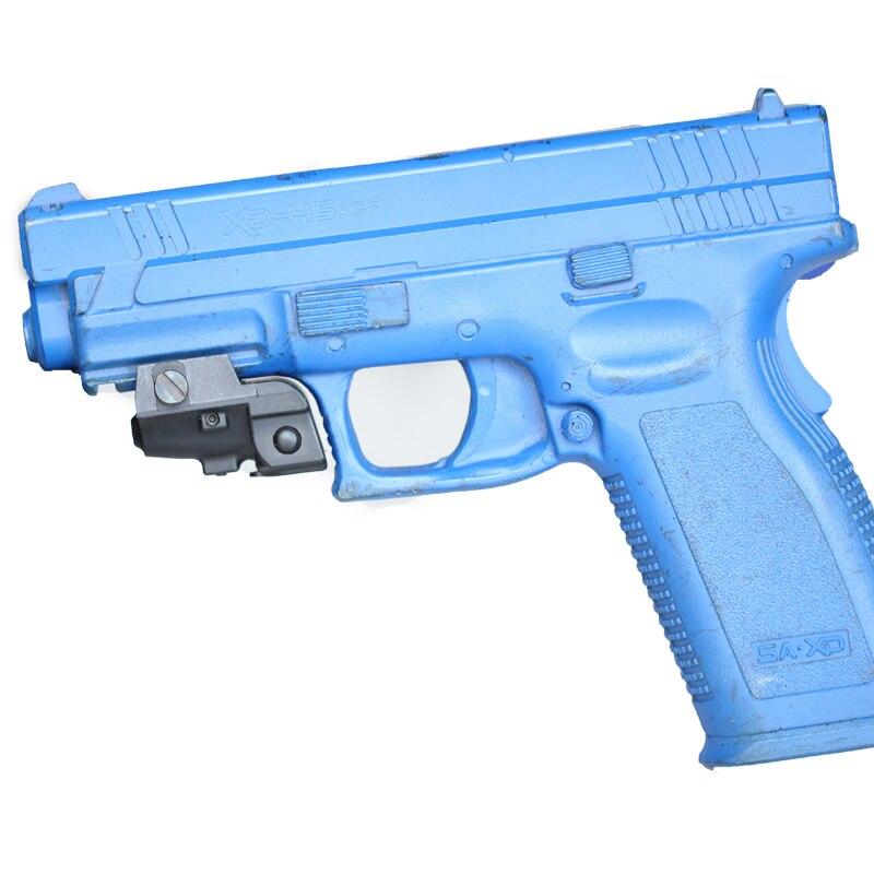 Pistolet de poing Rechargeable Micro point vert viseur Laser sous-compact pistolets à Air batterie intégrée Laser vert pour accessoires de pistolet Glock