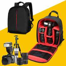 Cheap price Newest Video Photo Digital Camera Shoulders Padded Backpack Bag Case Waterproof Shockproof Small Bags for Canon Nikon DSLR HU-00
