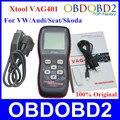 Professional XTOOL VAG401 100% Original Updated Online ABS SRS Engine Trouble Code Reader VAG 401 OBDII/OBD2 Scanner