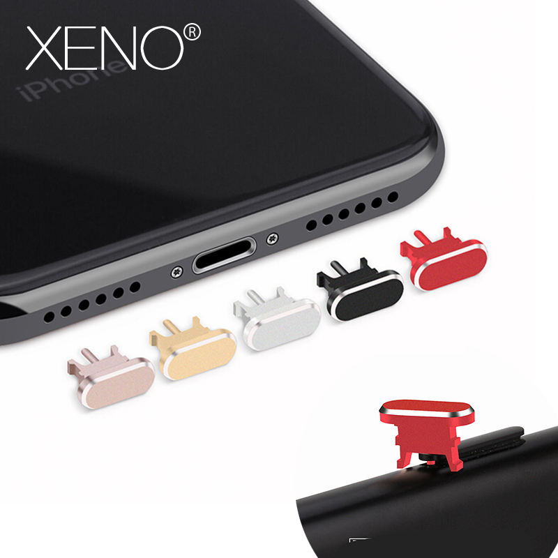 Metal Dust headphone plug plugs For iPhone 8 7 6 5s Prevent dust plug For iphone 7 plus 8 plus accessories Prevent Take off