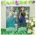 2016 Nuevas Llegadas Disny Juguetes Elsa Y La Princesa Anna Olaf Muñeca 30 cm Brinquedos Boneca 4 unids Princesa Juguetes de Regalo para Las Niñas