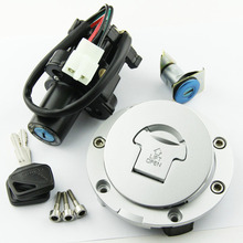 Fuel Tank Cover Cap Lock With Ignition Switch FOR Honda CBF1000 2006-2010 CB900 CB919 Hornet 2002-2007