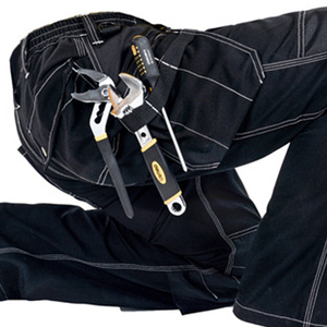 Image 3 - 2020 New Men Working Pants Multi Pockets Work Trousers With Removable Eva Knee Pads Top Quality Worker Mechanic Cargo Work Pants