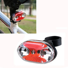 Dropshipping 2017 New Bike Light Cycling 9 LED Light Battery Flashlight Safety Back Rear Tail Bicycle Accessories wholesale(China)