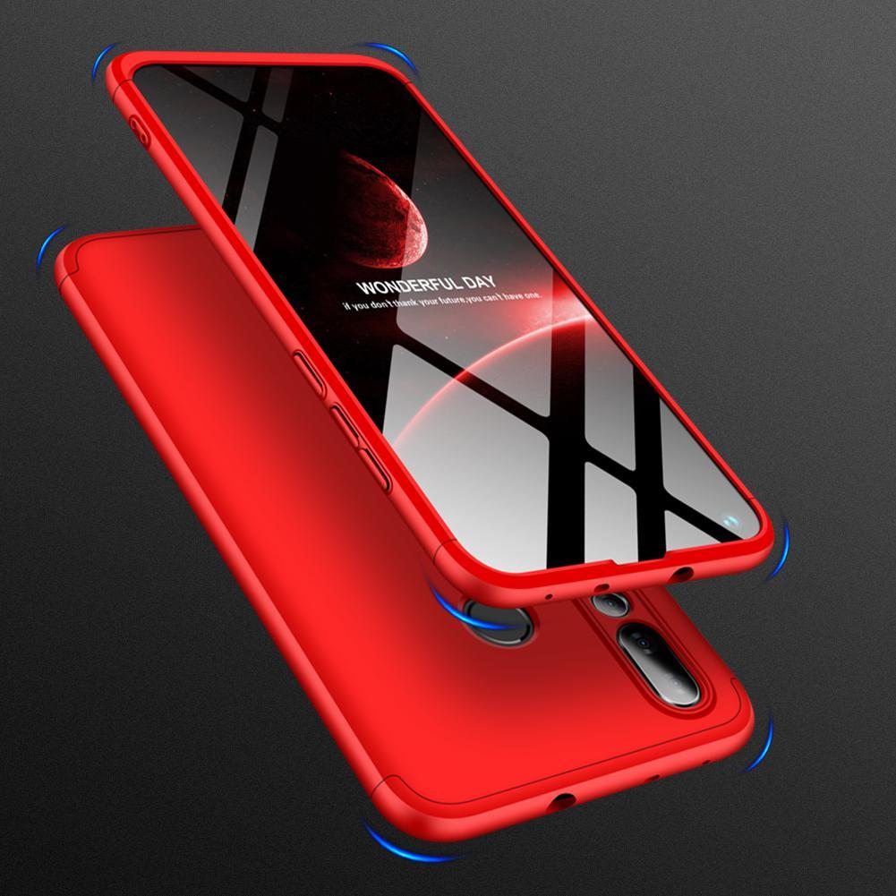DSstyles For HUAWEI NOVA 4 3 in 1 360 Degree Non-slip Shockproof Full Protective Case