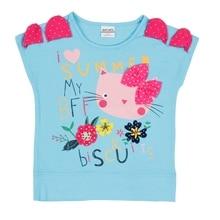 T Shirts for Girls Short Sleeve Shirt Baby Child Clothes Wear Tops Cartoon Princess T-shirts Kids K6949