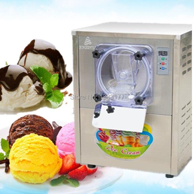 Free ship stainless steel 110v 60hz a batch freezer machine R134A, R401A,R404 hard <font><b>ice</b></font> <font><b>cream</b></font> maker machine