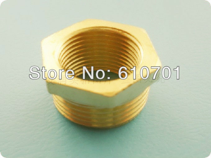 Pcs plumbing fittings brass pipe quot male female
