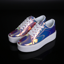 Купить с кэшбэком Popular Womens Walking Shoes Height Increase Girls Sports Shoes Brand Designer Athletic Shoes Women Wearable Girls Gym Shoes