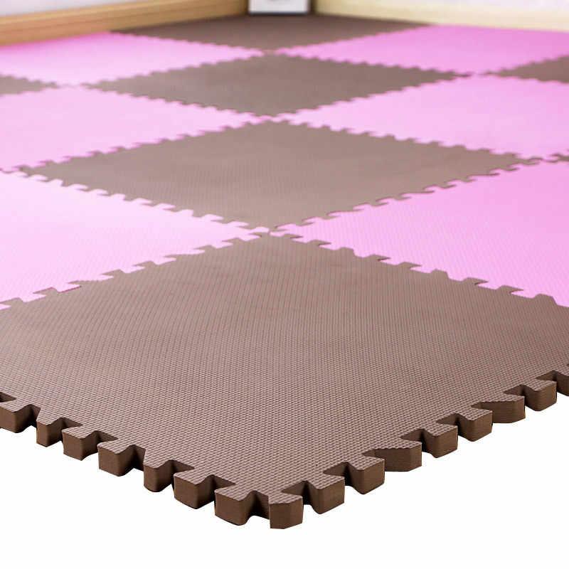 16 шт. для детей, eva пена игровой коврик-пазл/детские коврики игрушки ковер для детей Детский напольный для упражнений плитка 9 цветов 30*30 см