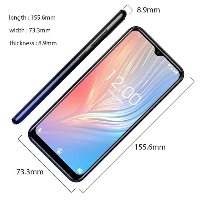 OUKITEL C15 Pro+ 6.088'' 19:9 Cellphone  Android 9.0 Pie 3GB 32GB MT6761 Waterdrop Smartphone Face ID 5G WiFi 4G Mobile Phone 3