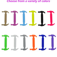 Athletic Running Lazy No Tie Shoe Lace All Sneakers Fit Strap Shoeslace 10Pc/Set Adult Children Elastic Silicone Shoelaces Hot
