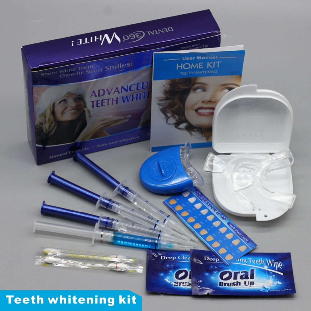 Hot Teeth Whitening 44% Peroxide Dental Bleaching System Oral Gel Kit Tooth Whitener Dental Equipment Dropshipping