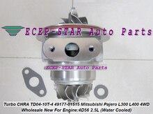 Water Cooled Turbo CHRA Cartridge TD04 49177-01515 MR355220 For Mitsubishi Delicia Pajero Shogun L200 L300 L400 4WD 4D56 2.5L