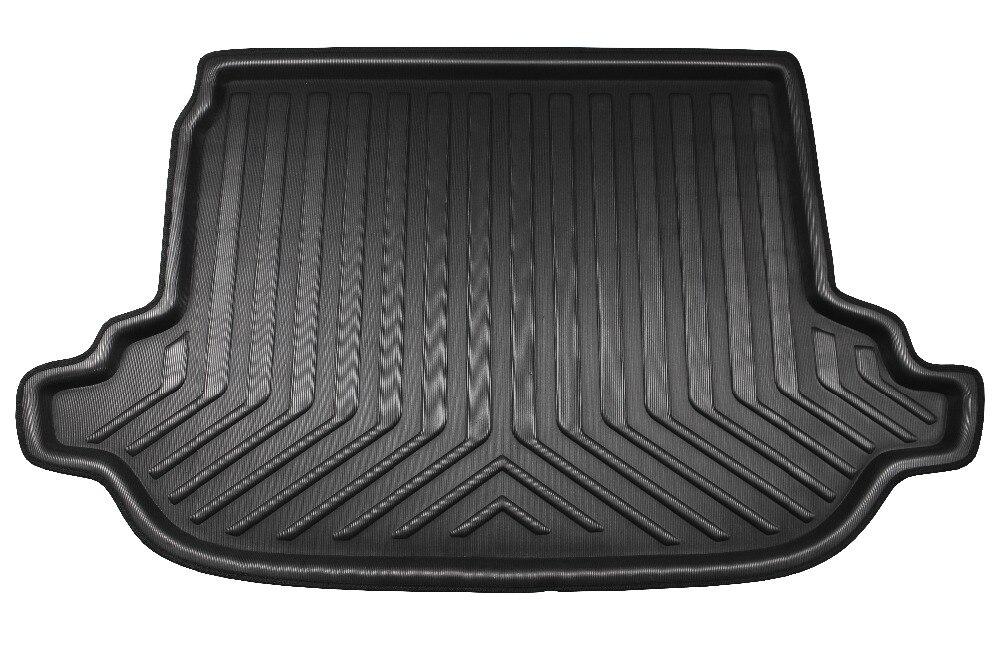 Автомобиль задний багажник Грузовой лоток загрузки лайнер коврик ковер протектор площадку для Subaru Forester 2013 2014 2015 2016 2017 2018 ...