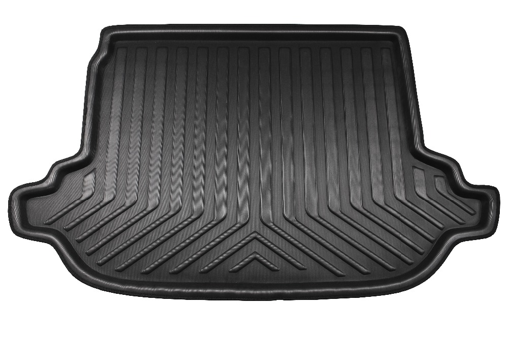 Car Rear Trunk Cargo Tray Boot Liner Floor Mat Carpet Protector Pad For Subaru Forester  ...