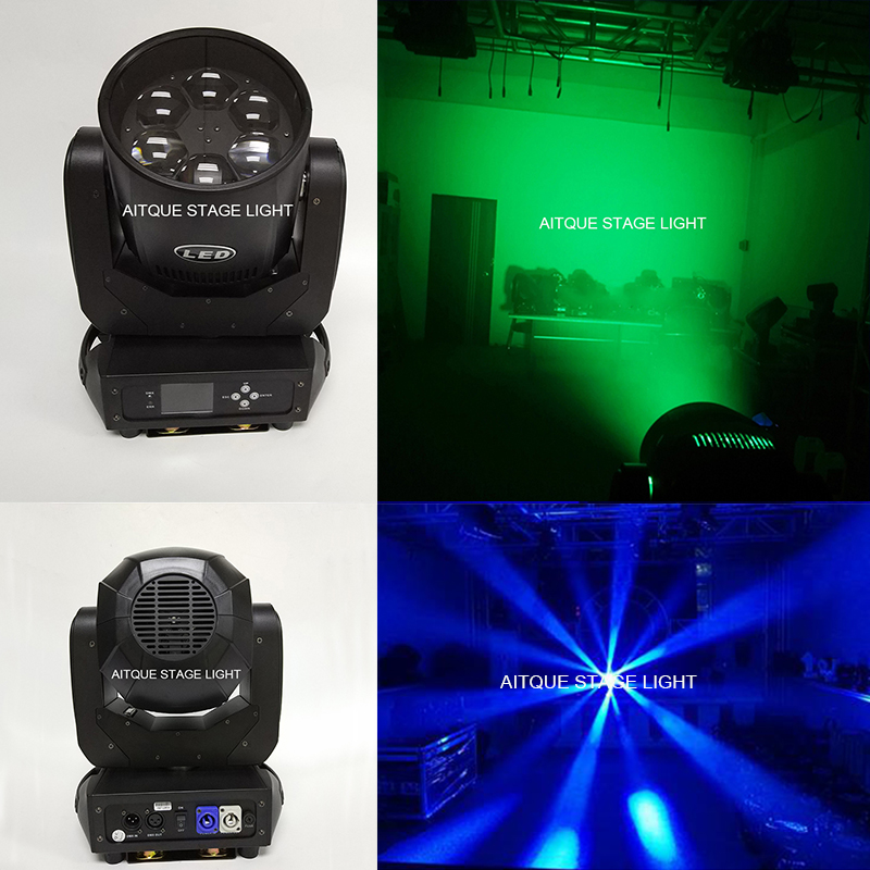 Disco DJ effect beam dmx mini lyres led beam 6x40 watt lyre beam led zoom mini led moving head|Stage Lighting Effect| |  - title=