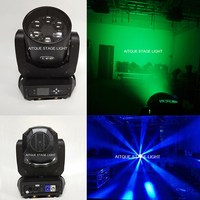 Disco DJ effect beam dmx mini lyres led beam 6x40 watt lyre beam led zoom mini led moving head