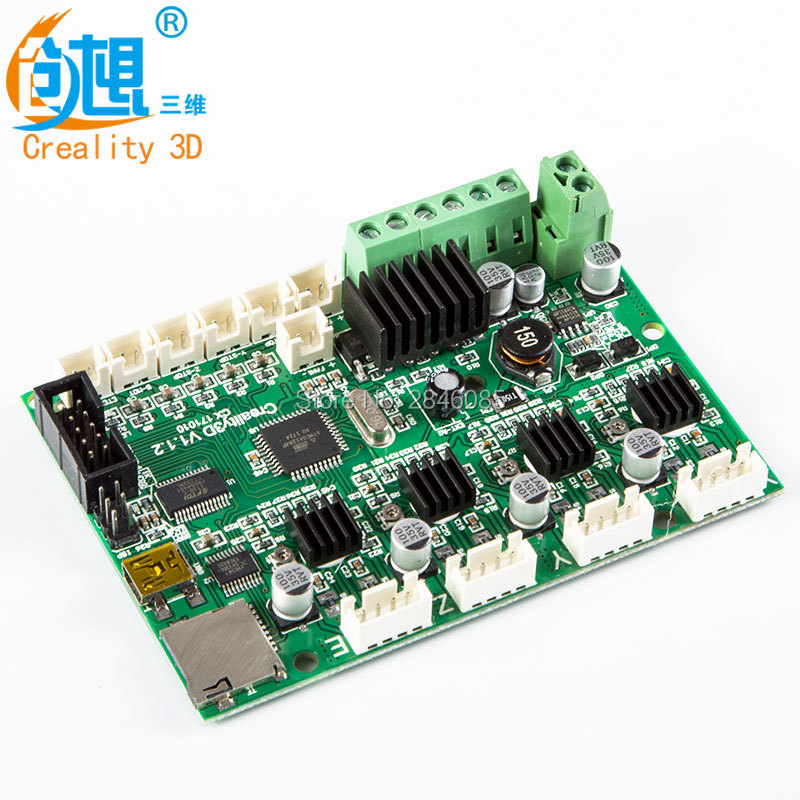 Creality 3D Upgrade CR-10 Mini V1.12 Melzi Mainboard/motherboard For CREALITY 3D CR-10Mini 3D Printer Original Supply melzi 1284p
