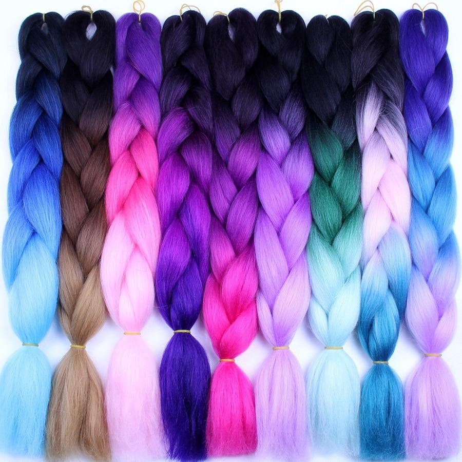 falemei three tone color crochet hair extensions kanekalon hair synthetic crochet braids ombre. Black Bedroom Furniture Sets. Home Design Ideas