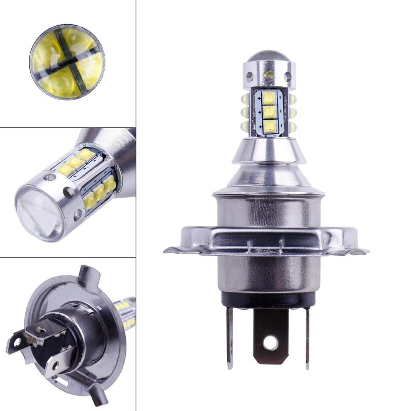 2Pcs H4 LED Bulb Super Bright 12 3535SMD Car Fog Lights 12V 24V 6000K White Driving Day Running Lamp Auto Led H4 Bulb (4)