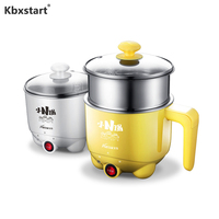 Mini Electric Cooker Auto Rice Cooker For Noodle Soup Porridge Steamed Egg Dormitory Multifunctional Electric Steamer Food 220V