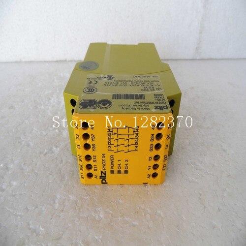 Оригинальные аутентичные Pilz Реле Безопасности pnoz X4 24VDC 3N/o 1N/c пятно 774730