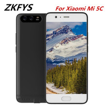 ZKFYS Portable Ultrathin Fast Charger Battery Case 6000mAh For Xiaomi Mi 5C Power External Charging