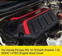 Engine Hood Guard Cover For Honda Fit Jazz Earth Dreams 1.5L DOHC i VTEC Engine