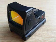 LED RM Red Dot Голографический Прицел Регулируется Съемки Airsoft Shotgun Сфера Оптический С Trijicon Стиль Мини-зеркало и 1913 глок Крепление