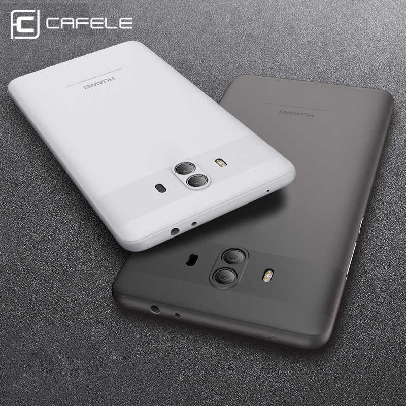 Cafele чехол для Huawei Mate 10 Случаи Гибкая PP Тонкий защитить кожу ультра тонкий прозрачный чехол телефона для Huawei Mate 10 Чехол