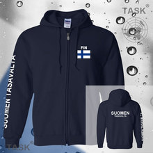 Finnland FIN Suomi Finnische Finn mens hoodies und sweatshirt jerseys polo sweat anzüge streetwear trainingsanzug nationen fleece reißverschluss