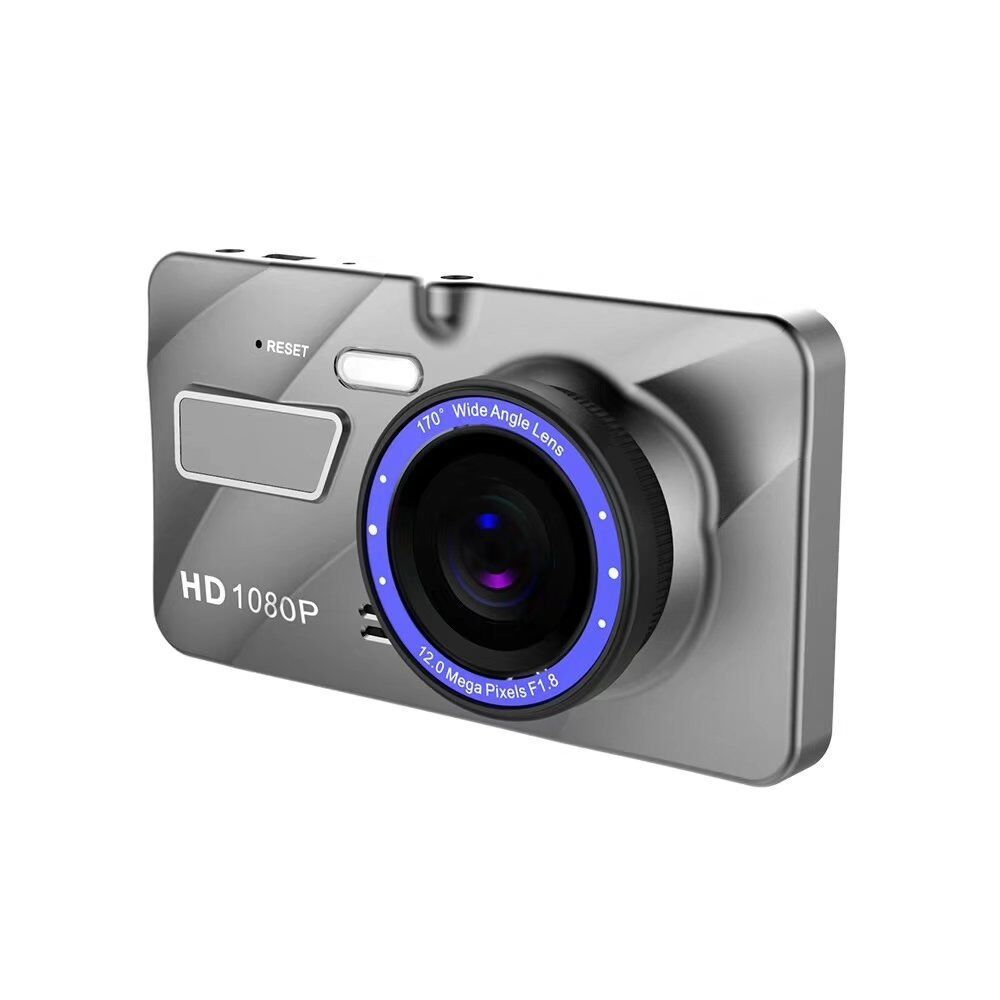 4 inch Car DVR Camera Dual Lens HD 1080P 170 Wide Angle Video Recorder Registrator Night Vision Car Camcorder DVRs Dash Cam New
