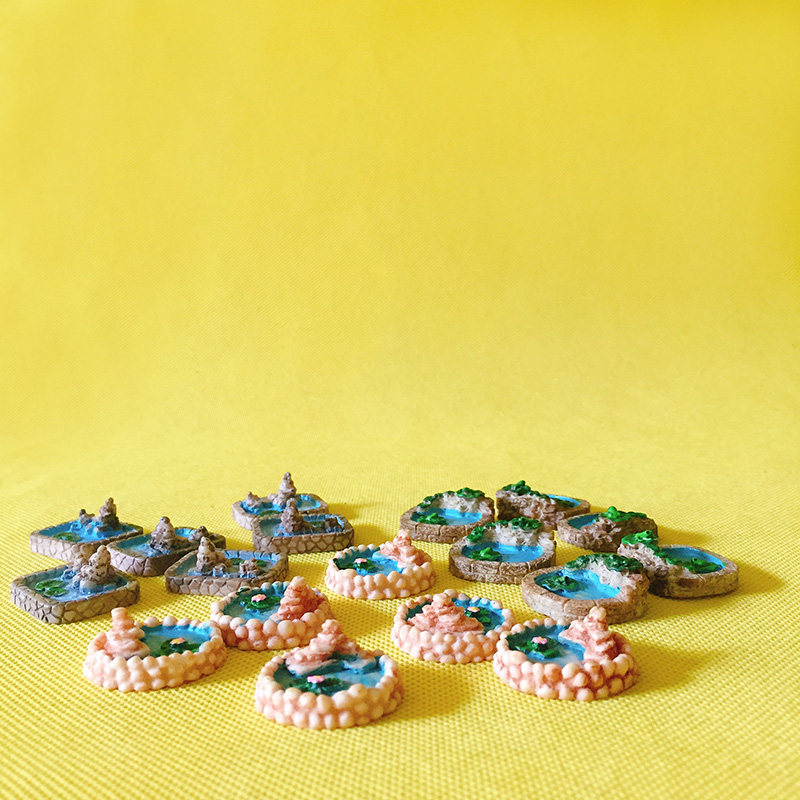 18pcs Girl Fairy Miniature Figurine Dollhouse Garden Ornament Decoration