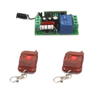 AC 220V 10A Relay 1CH RF Wireless Remote Control Switch 2 Transmitter Receiver Lamp Light Accessories