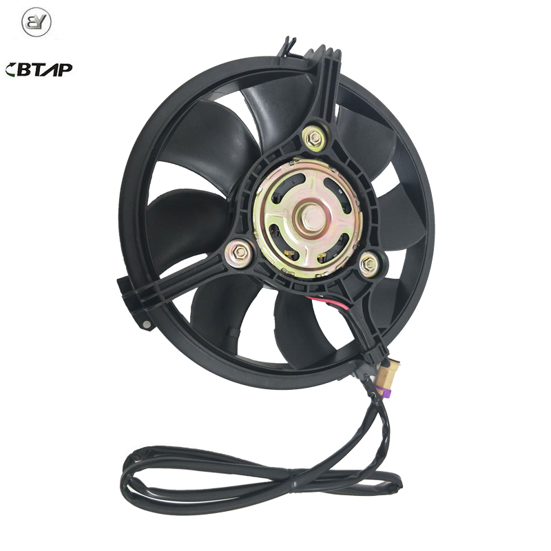 BTAP New Engine Radiator Cooling Fan For Audi A4 A6 VW Passat Sharan Ford Galaxy Seat Alhambra 8D0959455C 4B0959455 1011638 6k0837223a for vw sharan seat alhambra ford galaxy front left right door lock barrel repair kit 5pcs