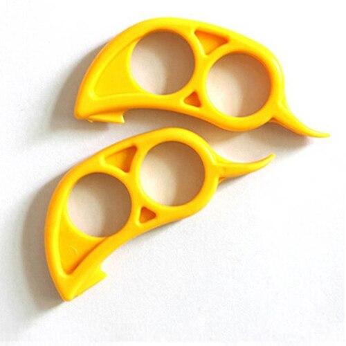 Lovely Lemon Citrus Orange Fruit Peeler Slicer Skin Remover Cutter Opener
