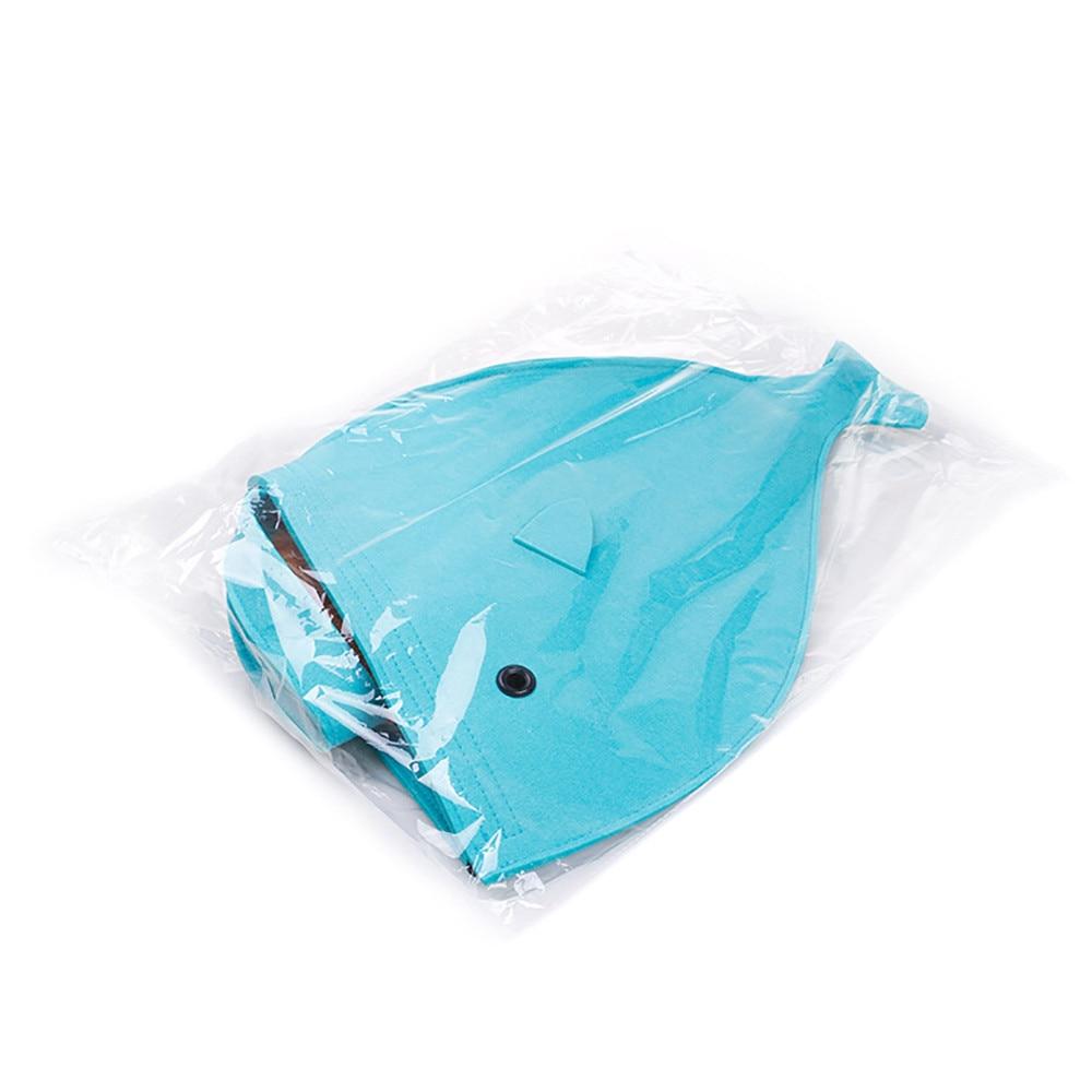 Newest 2 color Pet Dog Dual Use Convenient Portable Shark Shape Cute Dog Beds Warm Soft Foldable Dog House F901 6