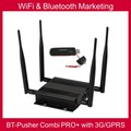 WiFi&Bluetooth mobiles Proximity marketing COMBI PRO+ with 3G/GPRS,car charger,battery(native advertising content system)