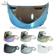 Фотография 7 Colors W/ Gold Blue Iridium Smoke Motorcycle Full Face Helmet Visor Lens Case for ARAI RX-7X RX7X CORSAIR-X RX-7V VAS-V