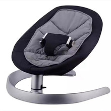 Baby cradle baby rocking chair aluminum alloy base bear 60KG chaise lounge chair cradle for newborn цена 2017
