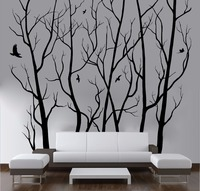 D446 Large Wall Art Decor Vinyl Tree Forest Decal Sticker Choose Size And Color