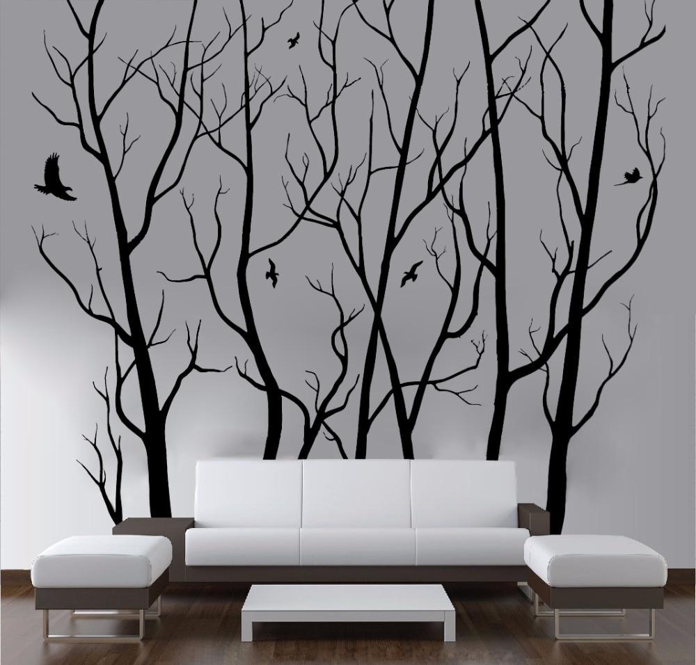 Large Tree Wall Art Decor