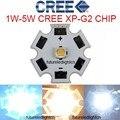 50pcs Cree XLamp XPG2 XP-G2 R5 Warm White White Cold White 1W~5W 3000k 4000k 6000K 220LM LED Light Lamp on 20mm Star pcb