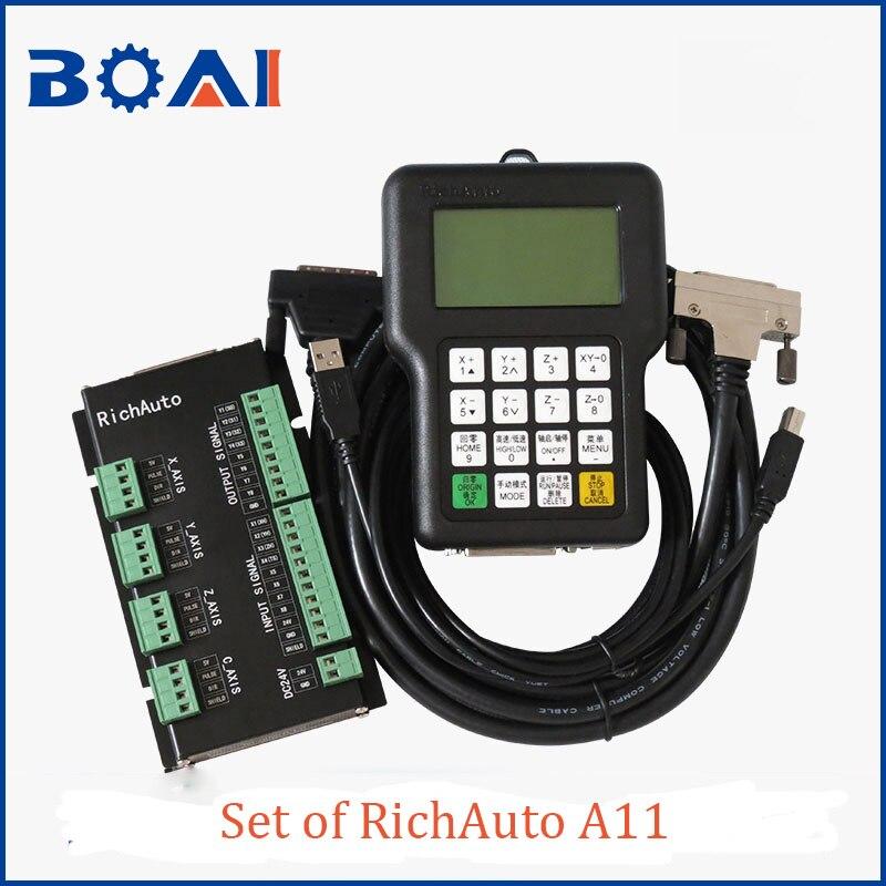 A11 DSP CNC controller RichAuto brand CNC Router parts CNC control system